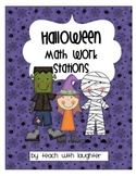 Halloween Math {10 Work Stations}
