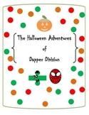 Halloween Math Word Problems Division