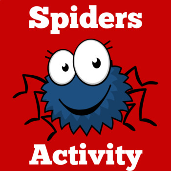 Halloween Activities | Spiders Math Center | Kindergarten