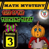 3rd Grade Halloween Math Activity, Halloween Math Mystery Review CSI Math Center