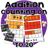 Halloween Math 1st Grade - Addition with Counting On - Math Center