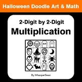 Halloween Math: 2-Digit by 2-Digit Multiplication - Doodle Art & Math