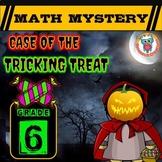 6th Grade Halloween Activity: Halloween Math Mystery Game Tricking Treat