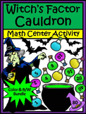Halloween Activities: Witch's Cauldron Halloween Math Activity