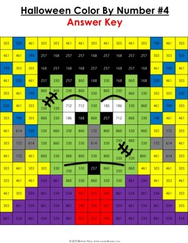 2nd Grade Halloween Activities 2nd Grade Halloween Math Color By Number