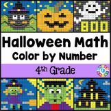 4th Grade Halloween Activities: 4th Grade Halloween Math (
