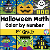 5th Grade Halloween Activities: 5th Grade Halloween Math (
