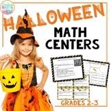 Halloween Math Center Activities - Word Problems, Arrays, Addition, Subtraction