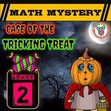 2nd Grade Halloween Activity : Halloween Math Mystery - Tr