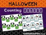 Halloween Counting 1:1 Correspondence Center