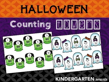 Halloween Counting 1:1 Correspondence Center