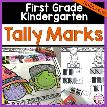 Halloween Math Tally Marks