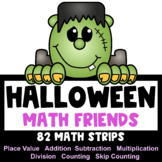 Halloween Math Activities: Halloween Place Value and Number Friends