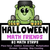 Halloween Math Activities: Halloween Place Value & Math Friends with TpT Digital