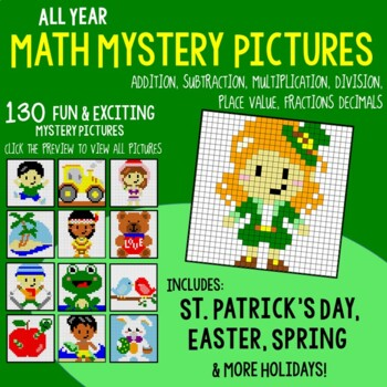 Back to School Math Activities and Summer Math Center Worksheets Bundle