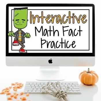 Halloween Math Facts For 2nd Grade 3rd Grade Math Fact Fluency