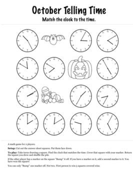 Halloween Math 2nd Grade+ Bump Games Bundle