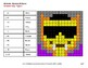Halloween: 3-Digit by 1-Digit Division - Color-By-Number Math Mystery Pictures