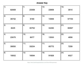 Halloween Math: 3-Digit by 2-Digit Multiplication QR Code Task Cards