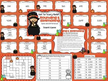 Halloween Math Centers 3rd Grade
