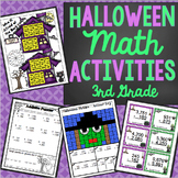 3rd Grade Halloween Math Activities - Math Games, Activities, and Centers