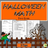 Halloween Math 3rd Grade