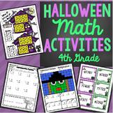 4th Grade Halloween Math Activities - Math Games, Activities, and Centers