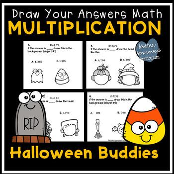 Halloween Math 4th Grade Math Art Activity