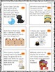 Halloween Math 50 Word Problems! Task Cards