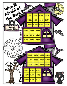 Halloween Math - 5th Grade