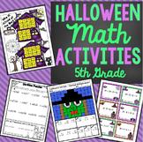 5th Grade Halloween Math Activities - Math Games, Activities, and Centers