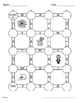 Halloween Math: Absolute Value Maze   - Multiplication & Division