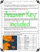 Halloween Math Activity 5th Grade Color by Number
