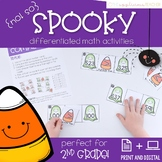 Halloween Math Activities 2nd Grade