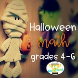 Halloween Activities and Math Games