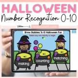 Halloween Math Activities Counting to 10 | Preschool and K