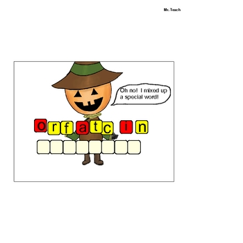 Halloween Math Activities: Fractions