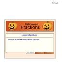 Halloween Math Activities: Fractions