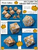 Halloween Math Activities: Jack-O-Lantern Dice Templates Halloween Math Center