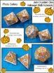 Halloween Math Activities: Jack-O-Lantern Dice Templates H