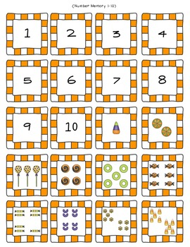 Halloween Math Activities  K.CC. 4 and 5