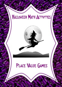 Halloween Math Activities: Place Value Games