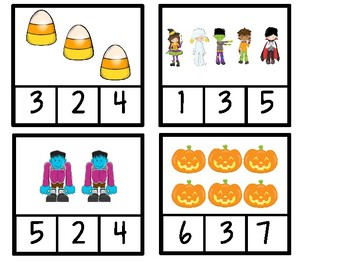 Halloween Math Activities for Early Childhood