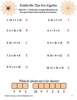 Halloween Math Activities for Grade 3,4,5,6,7,8