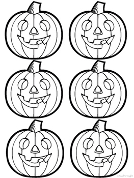 Halloween Math Activity