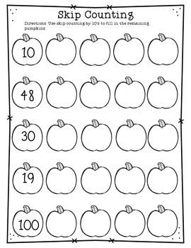Halloween Math Activity Book