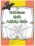 Halloween Math Activity Book