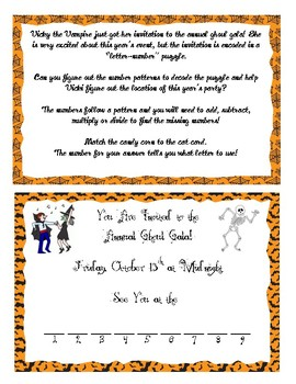 Halloween Math Activity Bundle - 8 Activities
