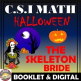 Halloween Math Activity: CSI Math - The Skeleton Bride. Happy Halloween!