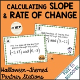 Halloween Math Activity Rate of Change